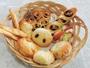 *【朝食/洋食一例】種類いろいろ♪焼きたての手作りパン(洋食希望は5日前までの連絡要)