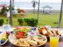 *ご朝食一例/朝の爽やかな陽光を浴びながら食べる贅沢な朝食。