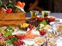 夕食はお肉も海鮮もどど-んと全21品!ガゼボにてグリル&スチームでお楽しみいただけます。