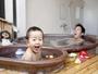 キッズ専用天然温泉貸切風呂もある。