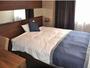 【シングルA】(1)120cm幅のベッドでゆっくりお休みくださいませ