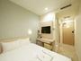 ダブルベッドルーム(ベッド幅:140cm)全米シェアNo.1のシーリー社製ベッドを使用。