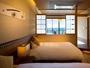 別邸【半露天風呂&テラス付き和洋室】客室一例
