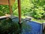 【露天風呂・ほたるの湯】何度でも入りたくなるほど、心地の良い露天風呂です