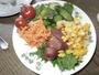 無農薬自家畑の野菜をご提供