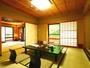 ☆客室_秋月・春暖清潔で広々としたお部屋でのんびりとお過し下さい。もちろん温水洗浄トイレ完備。