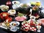 【当館人気No1旬菜会席】季節ごとに調理長自らこだわり抜いた会席料理をご堪能ください