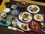 【7・8月】新鮮魚介、三河産牛肉などを様々な料理でご堪能頂く《創作懐石料理》 ※写真はイメージ