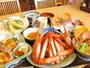 【まつや定食】 大ボリューム!紅カニ,地物海の幸満載♪好評です♪♪