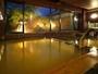 伊香保でも数少ない黄金の湯が掛け流されている大浴場