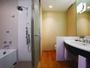 好評の洗い場付きバスルームで、心も体もリフレッシュ!