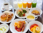 朝食ビュッフェはお好きなものをお好きなだけどうぞ!