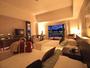 最上階 ロイヤルフロア ツイン】二人で広々過ごせる45平米のスタイリッシュな客室