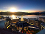 ようこそ癒しのガーデンホテルへ。京都から約20分、びわ湖畔に佇むヨーロッパのお城風な外観が目印です。