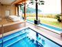 和風露天風呂からの景色