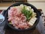 能登半島オリジナル能登産豚の味噌鍋☆ (写真は4人前です)