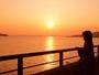 全室オーシャンビューテラス付き・沈む夕日に感動♪見逃さないように!!★撮影2011.02.06