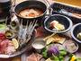 お食事もグランピングの醍醐味!自然の中で、普段のキャンプとは違う贅沢食材をお楽しみ下さい。