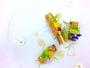 (お料理例)青森県産美雪マスのミキュイ クリームチーズとハチミツのソース