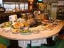 郷土料理が豊富な朝食バイキング