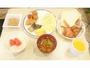 朝食無料サービス(明太子も食べ放題!)