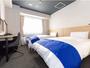 スタンダードツイン【17平米/110cm幅ベッド2台】-写真は一例です-