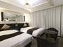 デラックスツイン(22平米/ベッド幅122cm×2)