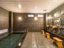 天然温泉「牛和歌の湯」つるつるすべすべの天然温泉です。美肌効果は抜群です!スーハ°ーホテル高松禁煙館