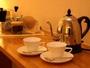 【客室設備ィ】快適な滞在には欠かせません。ラッセルホブス&コーヒーミルのセット。