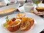 【朝食】焼きたてのフレンチトーストは女性に大人気。朝からしっかり栄養チャージ!