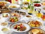 道産食材をふんだんに使用した朝食ブッフェ。「桃花林」の本格中華もあり、食べごたえ抜群です