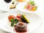 【道産牛のグリルディナー】選りすぐりの食材を使用した当館人気No1のディナーメニュー(イメージ)