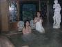 緑に囲まれた露天風呂、リゾート気分を満喫。