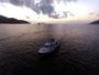【サンセットクルージング】専用のクルーザーで、海上から夕陽を望む美しい景色をお楽しみいただけます♪