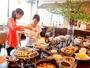 内容充実の朝食バイキング★山形のお米「つや姫」や芋煮などを約30種類をご用意!