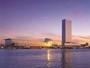 オーシャンビューの客室や展望室からは、日本海に沈む夕日がご覧いただけます。