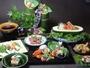 夕食:夏料理例(極上の和食膳)