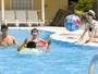 夏季ガーデンプール