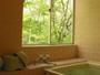 四季折々の景色が楽しめる貸切風呂