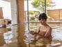 源泉かけ流し展望大浴場「ながめの湯」