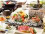 【夏 基本会席料理】 ※イメージ/焼物とお造り2名様盛り