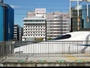 新横浜駅、新幹線のホームから当ホテルがご覧いただけます!