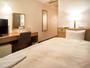 県内最大級の室数を誇る当ホテルのシングルルーム。機能性と快適性を備えたリーズナブルなお部屋です。
