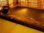 洗い場が畳敷きになっている但馬屋名物の貸切温泉「竹葉」