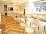 ♪当館1階カフェにて朝食をお召し上がり頂けます。毎朝6時30分-9時