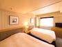 ツインルーム(27平米)140cm幅のベッドを2つご用意しおります