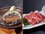磯の香かおる「鮑の踊り焼き」&ジューシーな肉汁の「和牛ステーキ」。「どちらも食べたい!」という方に♪