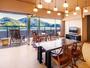 ◆アッパースイート客室◆ダイニングテーブルを囲うお部屋食が実現。最上級客室で気兼ねない、ひとときを