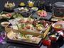 【伊豆3大味覚和懐石】伊豆が誇る高級3大味覚の伊勢海老・静岡牛・相模湾魚介をおしみなく贅沢に!