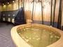 【レモン風呂】生口島・瀬戸田の名産レモンを浮かべた自慢のお風呂。
